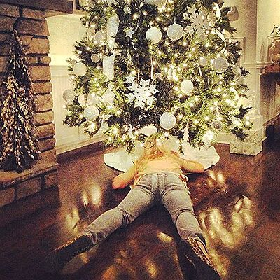 Звезды отпраздновали Рождество. Фото