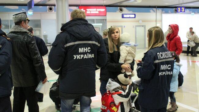 У Київ прибули евакуйовані з Сирії українці