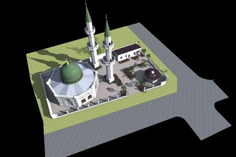 вот кто план постройки мечети красивый фото новым