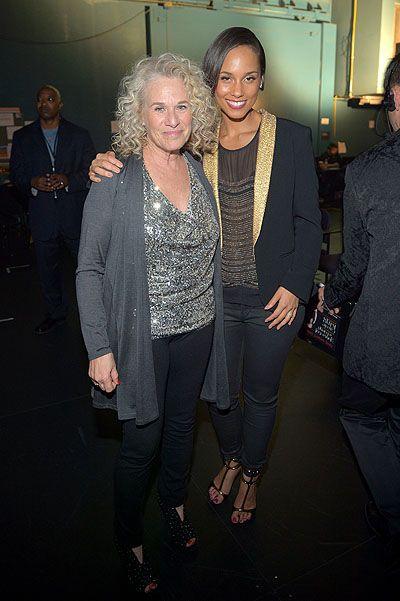 Перри спелась с Николсоном на благотворительном вечере. Фото