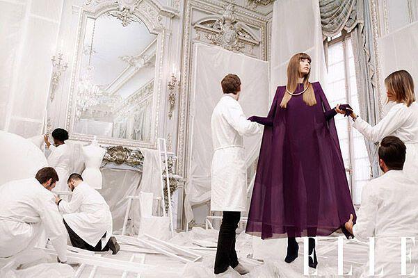 Джессика Бил стала модной музой для Elle. Фото