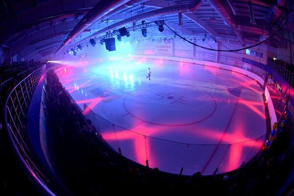 Колесников открыл в Белой Церкви ледовый стадион