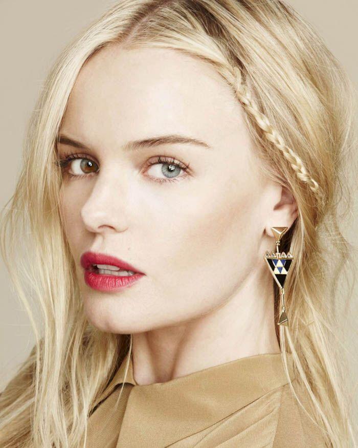 Разноцветные глаза Кейт Босворт в рекламе украшений