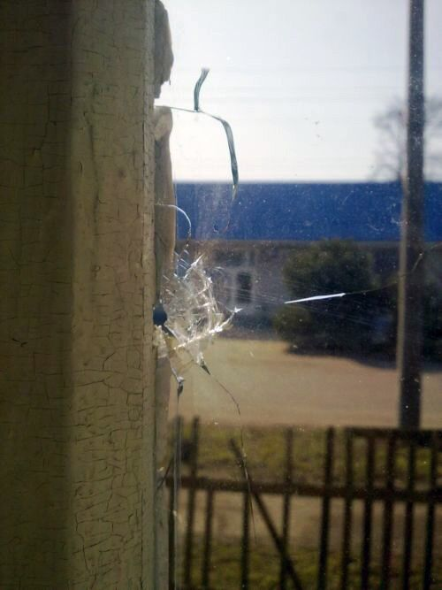 В Запорожской области обстреляли райком КПУ