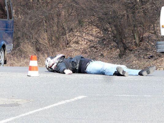 Дочка депутата насмерть збила байкера. Додані фото