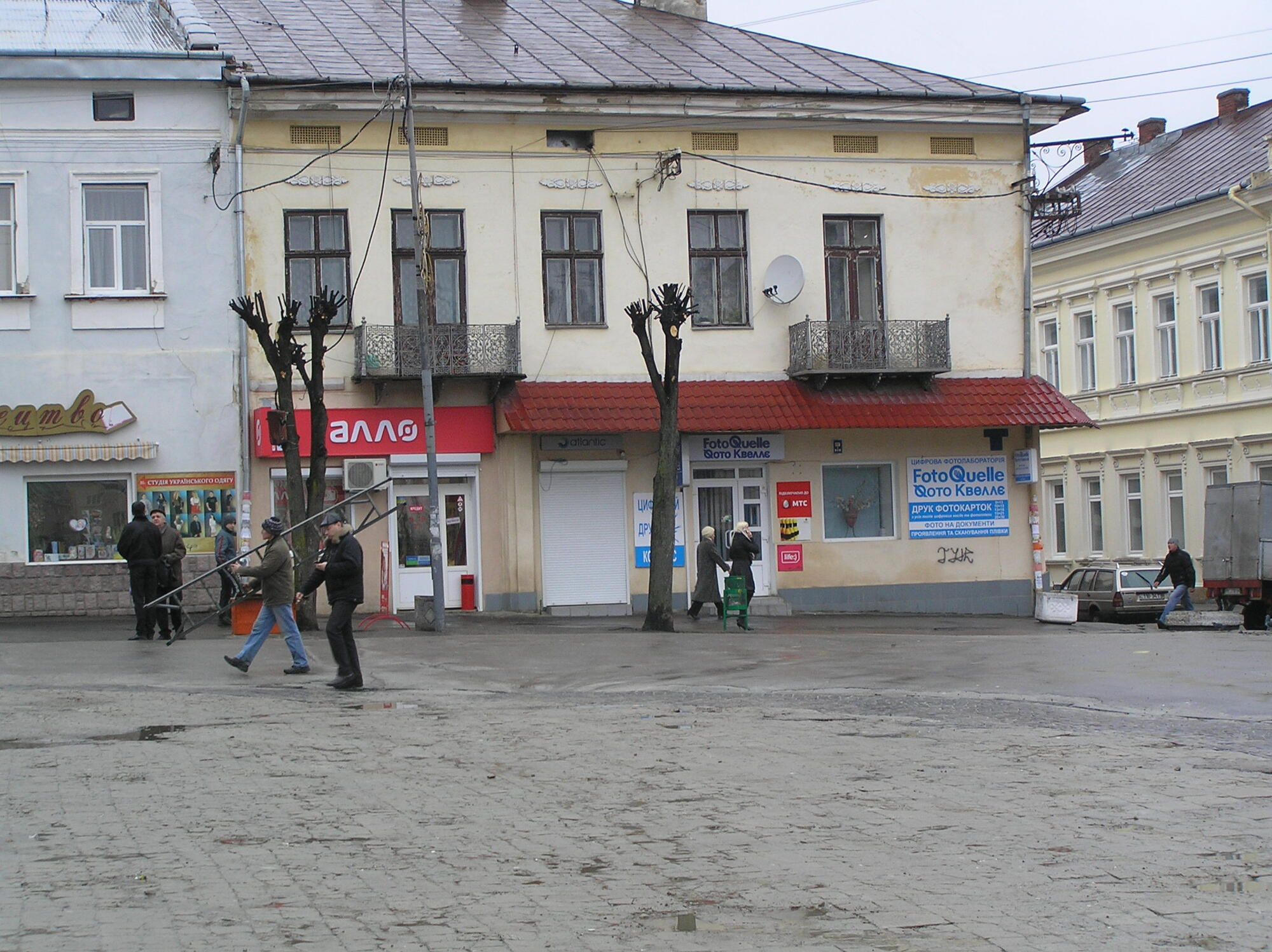 Відомо, чому провалився магазин на Львівщині
