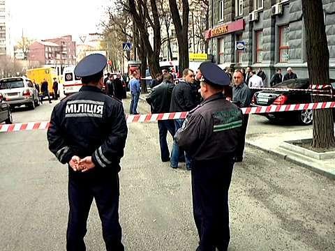 Убийство Аксельрода: фото с места событий