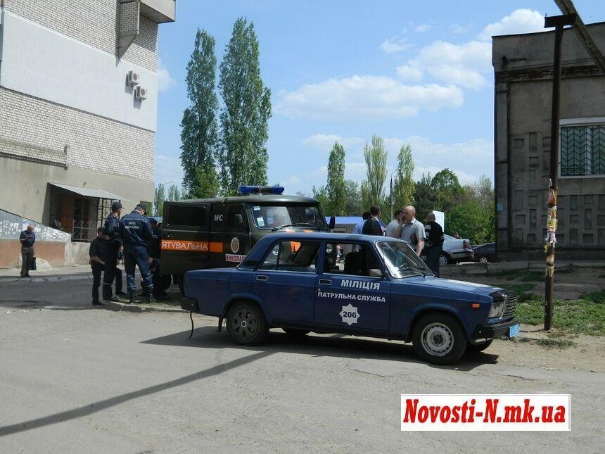В Николаеве из-за угрозы взрыва эвакуировали многоэтажку. Фото