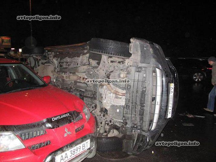 Левко Лукьяненко едва не погиб в ДТП из-за пьяной женщины