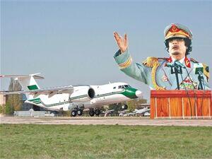 Cамолет Каддафи за $25 миллионов пылится под Киевом