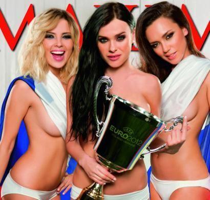 Женская поп-группа разделась ради футбольной сборной России