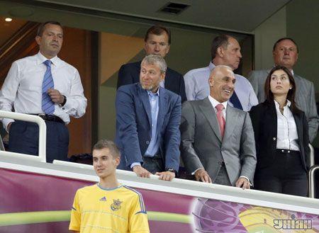VIP-уболівальники в Донецьку