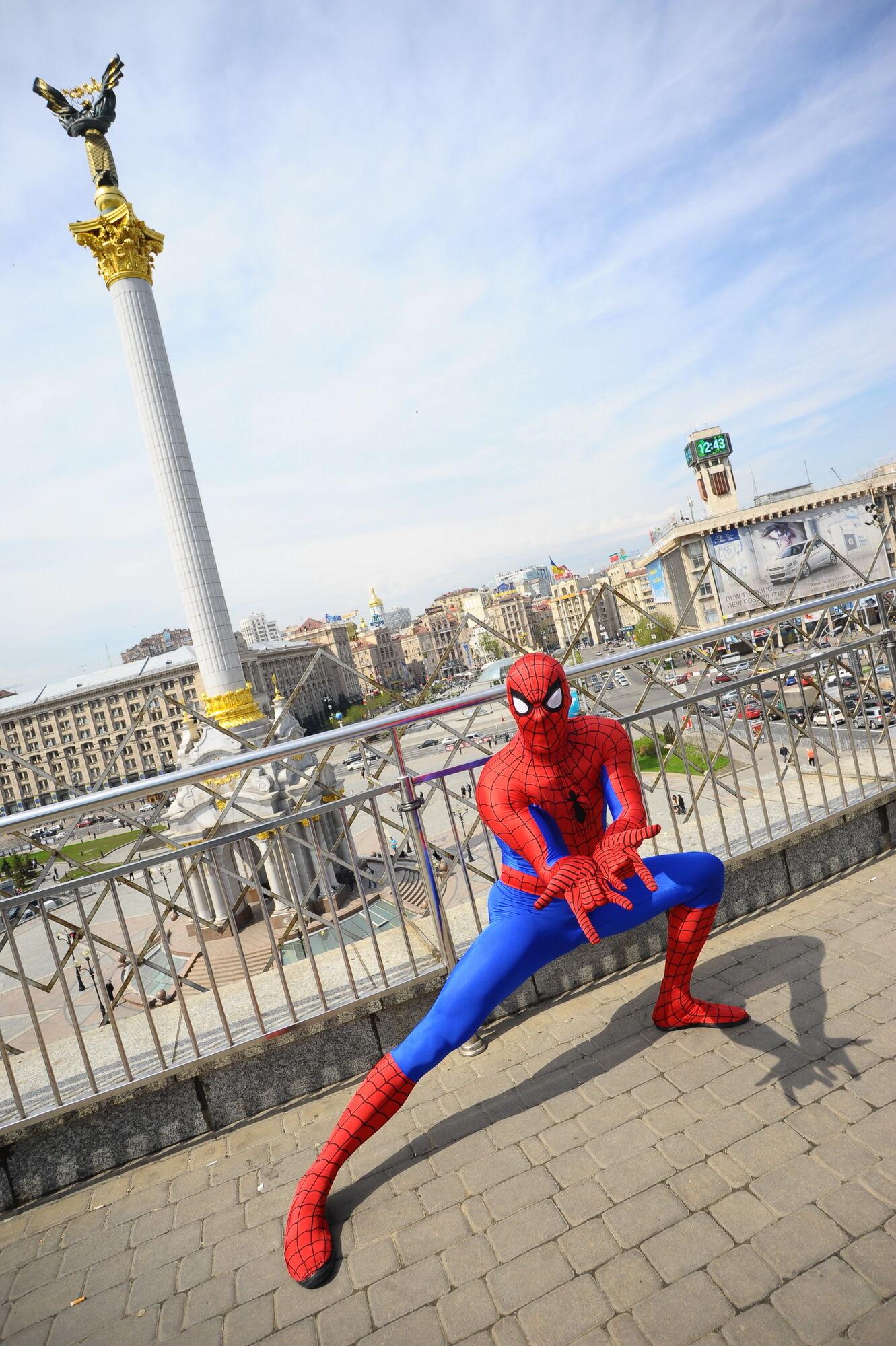 Человек-паук в Киеве