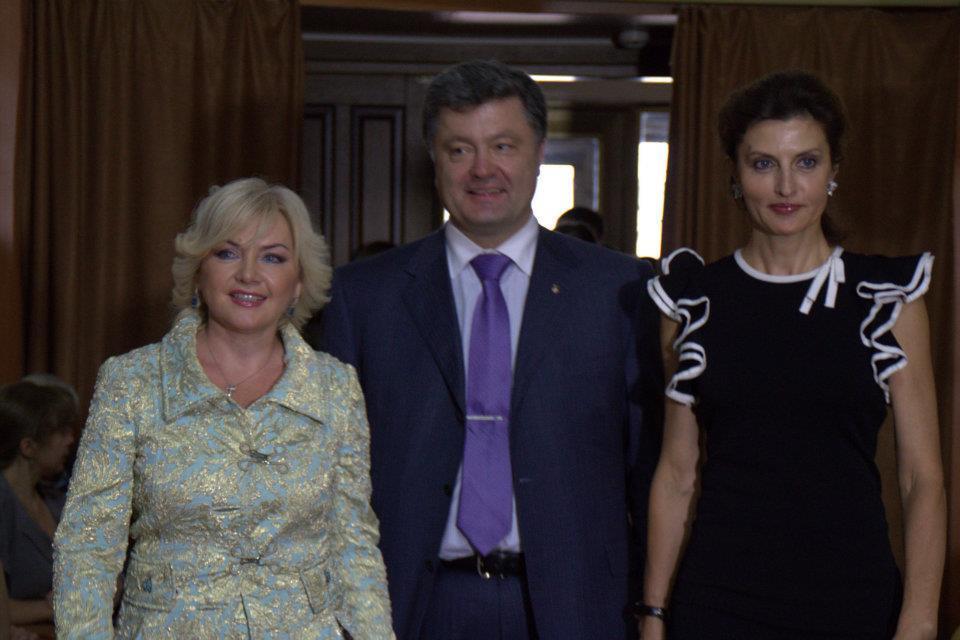 Дети Порошенко снялись в клипе Билозир