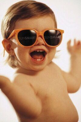 Выбираем солнцезащитные очки для ребенка