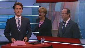 Меркель з'явилася перед телеглядачами з вусами Гітлера