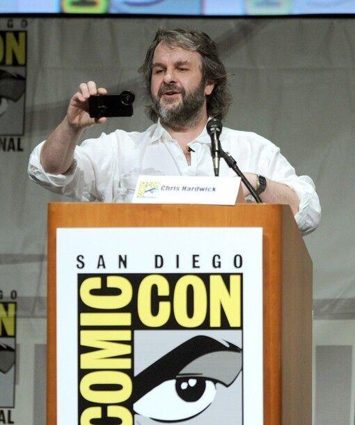"""Презентация """"Хоббита"""" в Сан-Диего: Бильбо, Фродо, Голлум и другие"""