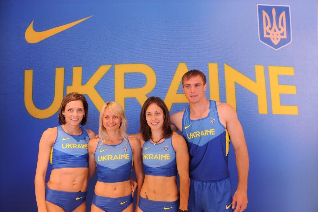 1821d6cb8999 Сборная Украины по легкой атлетике презентовала