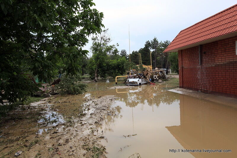 так решил крымск наводнение фото очевидцев моем представлении