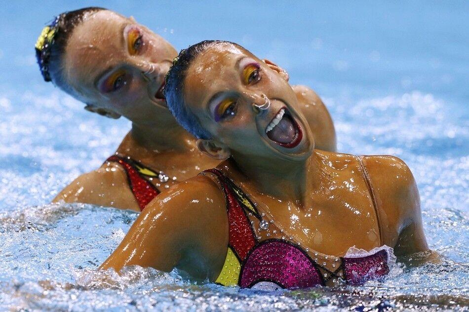 Синхронное плавание приколы фото