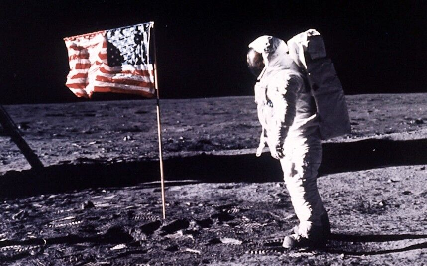 first man to moon July 20, 1969: first man on the moon the first astronauts walk on the lunar surface during nasa's apollo 11 mission.