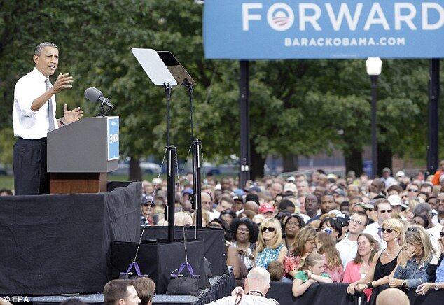 Охоронець Обами справив потребу на очах у сотень виборців
