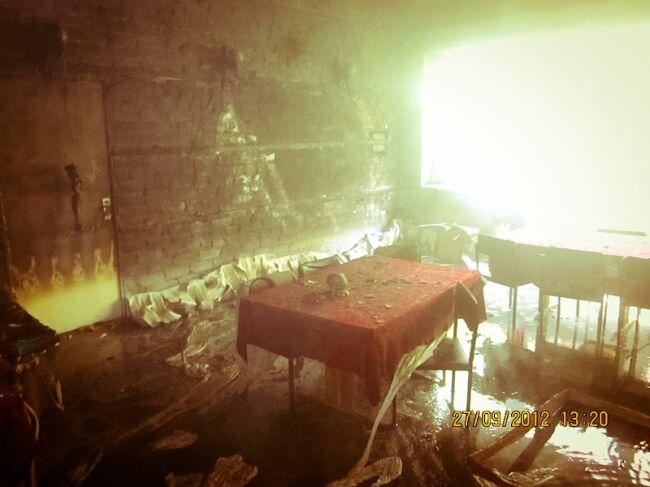 В Киеве горела столовая