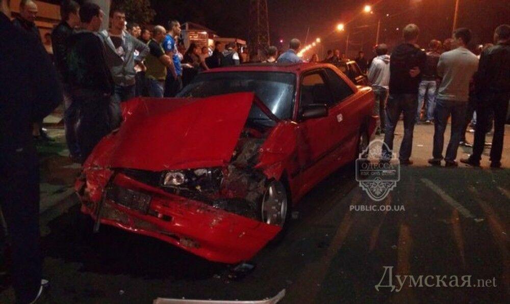 Ночные гонки в Одессе закончились ужасным ДТП