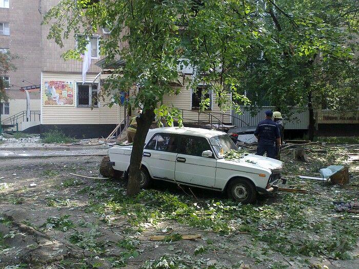 Взрыв в Харькове: одной из жительниц чудом повезло