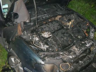 Главред газеты на Львовщине связывает поджог авто со своей деятельностью