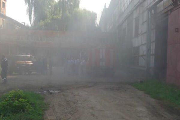 """В Полтаве горел завод """"Полтавахиммаш"""""""