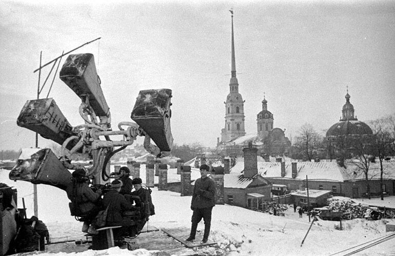 Забавные средства ПВО Первой мировой войны. Фото