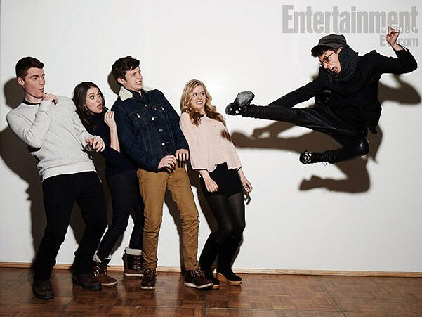 Entertainment Weeky собрал звезд Сандэнс вместе. Фото