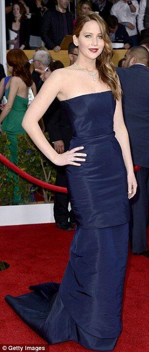Дженнифер Лоуренс: конфуз с платьем