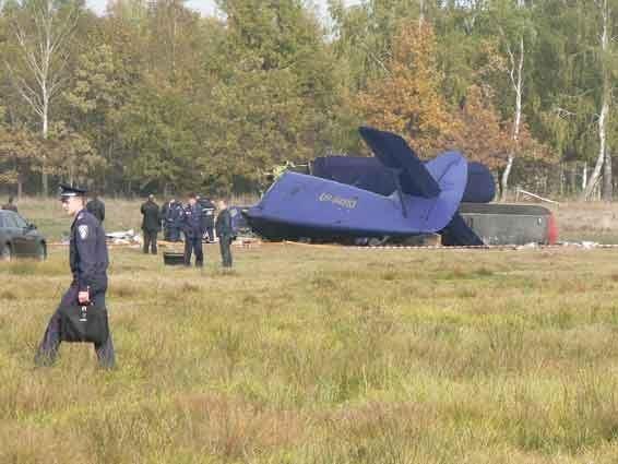 Авиакатастрофа на Волыни: стали известны подробности ЧП