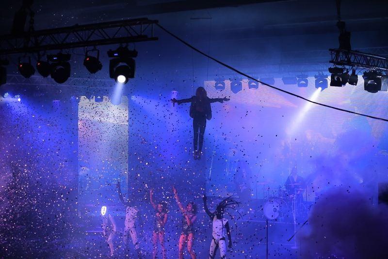 Лобода до одуру налякала фаната на своєму концерті