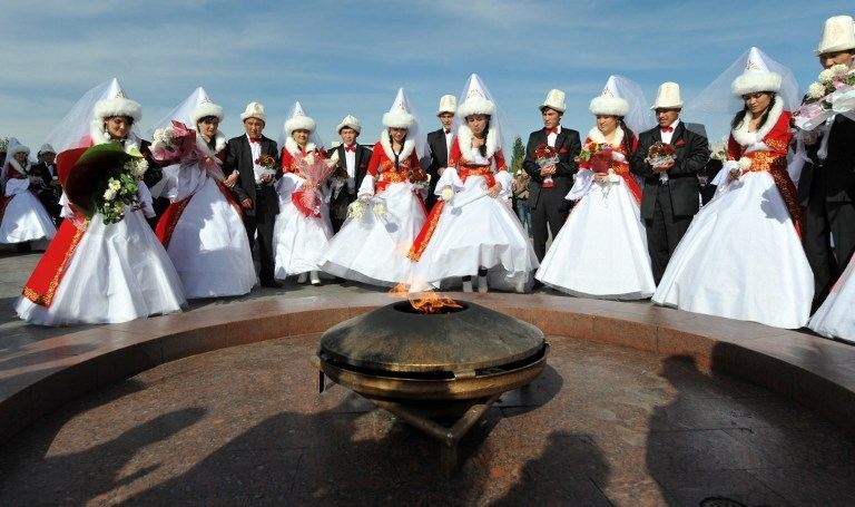 конечно ахти свадебные фото кыргызстана уйдите своими модными