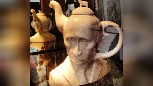 У продажу з'явився чайник-голова Путіна