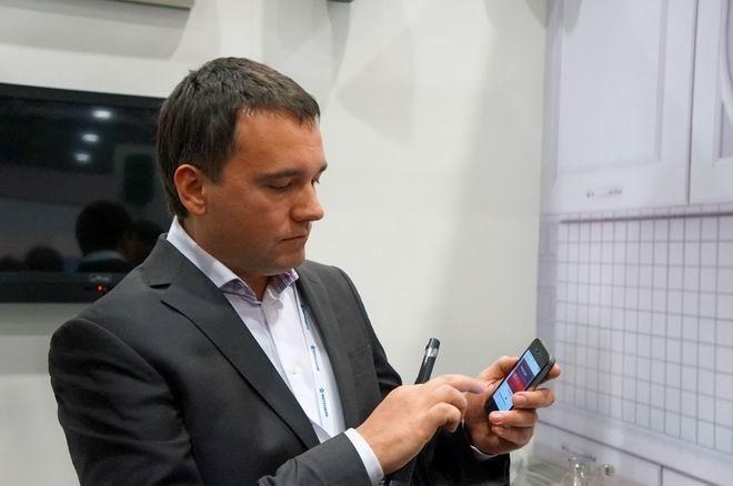 В Москве показали квартиру, управляемую смартфоном