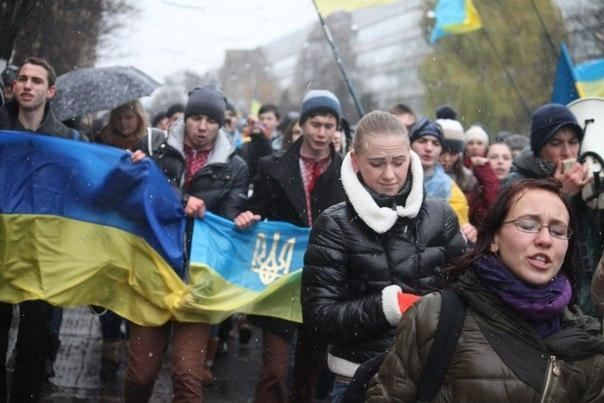 Львовский Евромайдан требует отставки губернатора Львовщины