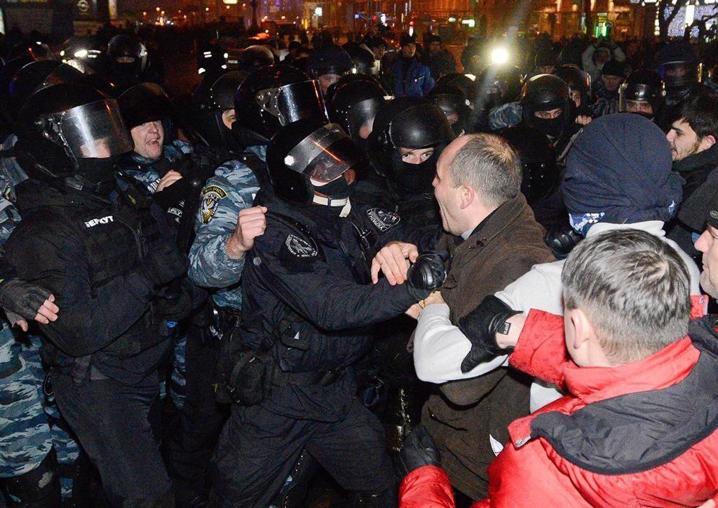 От ГПУ требуют расследовать избиение нардепов на Евромайдане