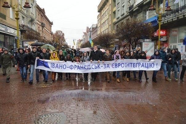Ивано-Франковские студенты не вернутся к учебе, пока их не услышит президент