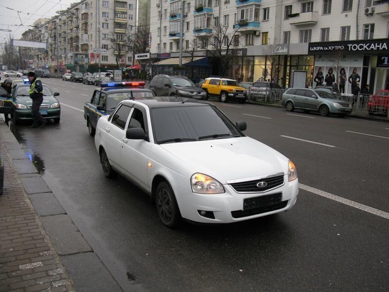 В Киеве поймали поджигателей автомобилей