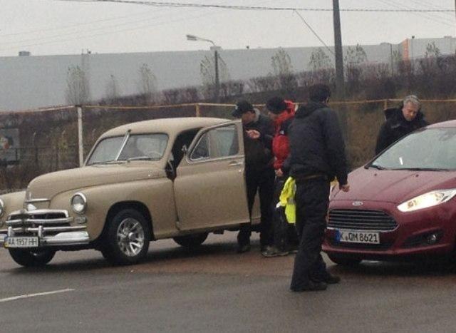 "Top Gear в Киеве гонял на ""скорой"" и ""Победе"""