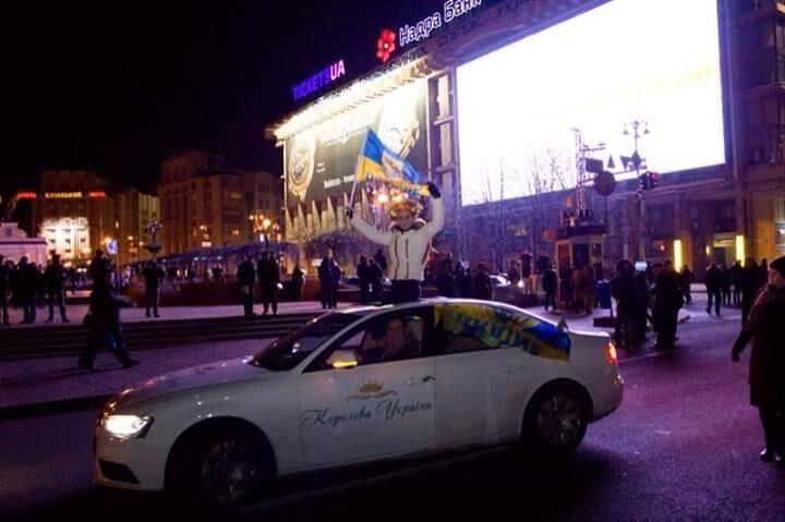 Украинские Евромайданы спокойно пережили ночь