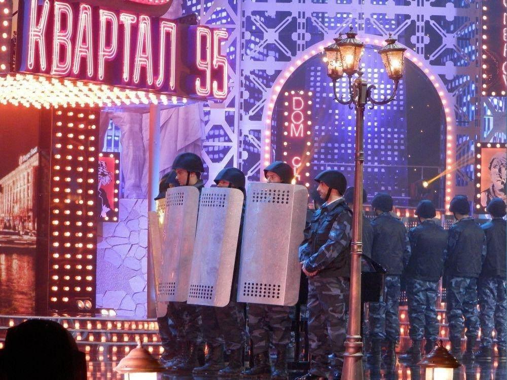 """""""Квартал-95"""" поставил Януковича на колени"""