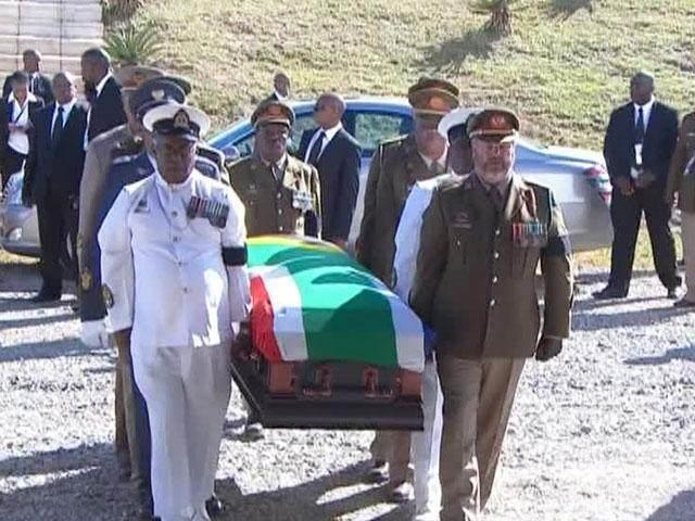 Нельсона Манделу похоронили с воинскими почестями
