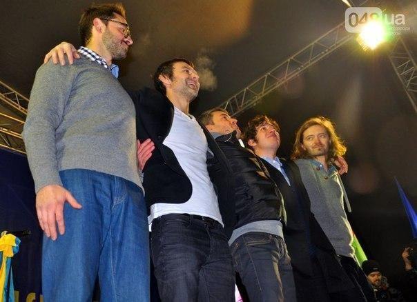 """Політики і зірки відірвалися на концерті """"Океану Ельзи"""""""