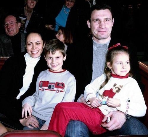 Жена Кличко похвасталась своими детьми