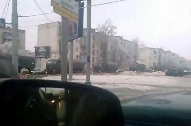 В Волгоград ввели войска - очевидцы